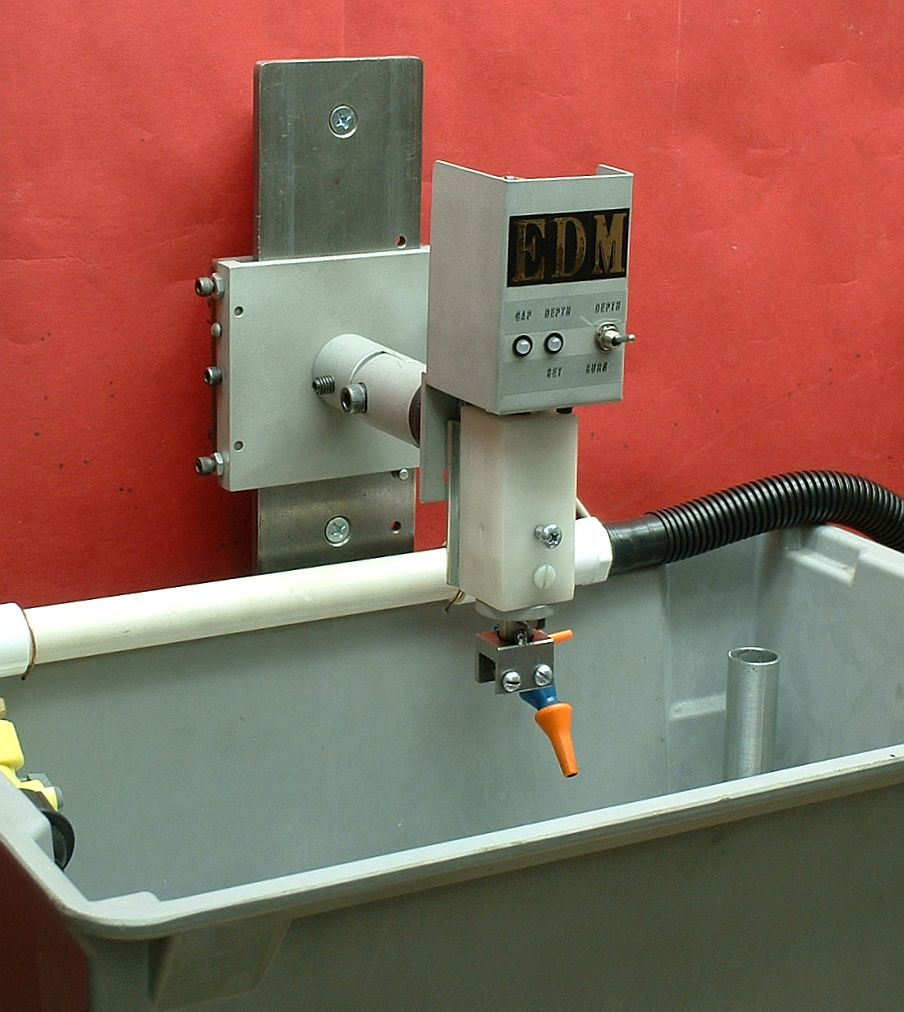 Build your own HomeBuilt Electrical Discharge Machine (EDM) for